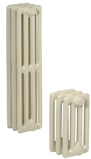 Žebrové litinové radiátory